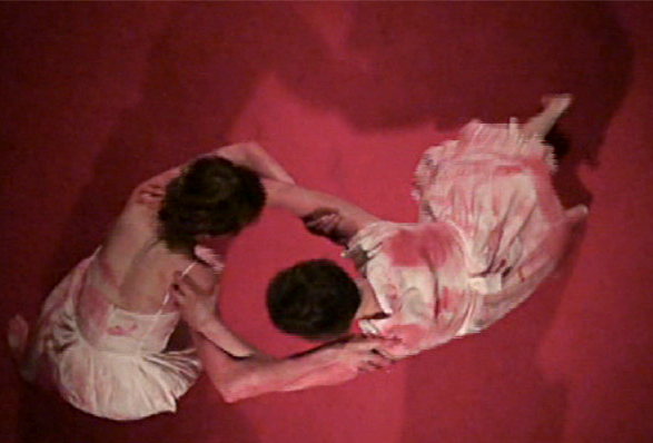 Still from IN FOR THE KILL, performance, 2009. Photo by Jennie Thwing.