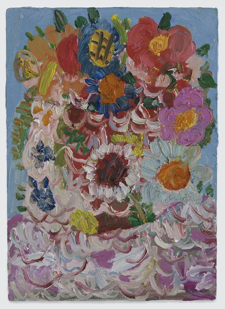 Georgina-Gratrix_Untitled-Flowers_2014_Oil-on-Board_70-x-50-cm