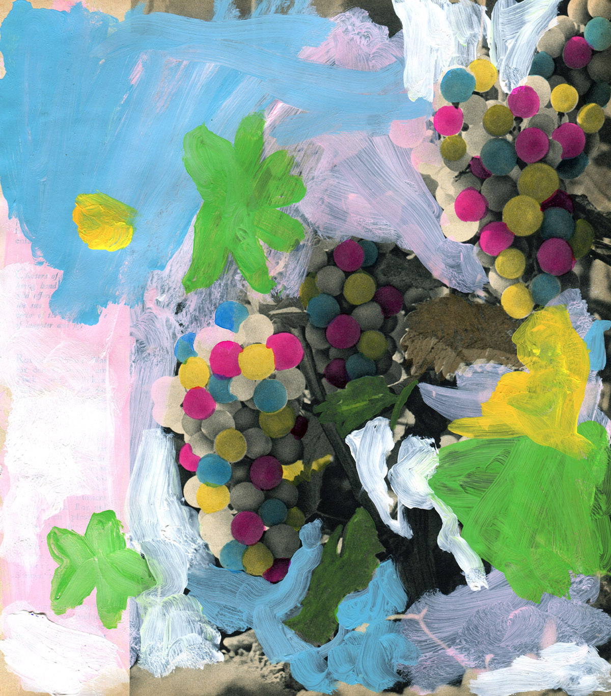 Minna Gilligan, Grapes of Wrath, 2015. Courtesy the artist and Daine Singer Gallery