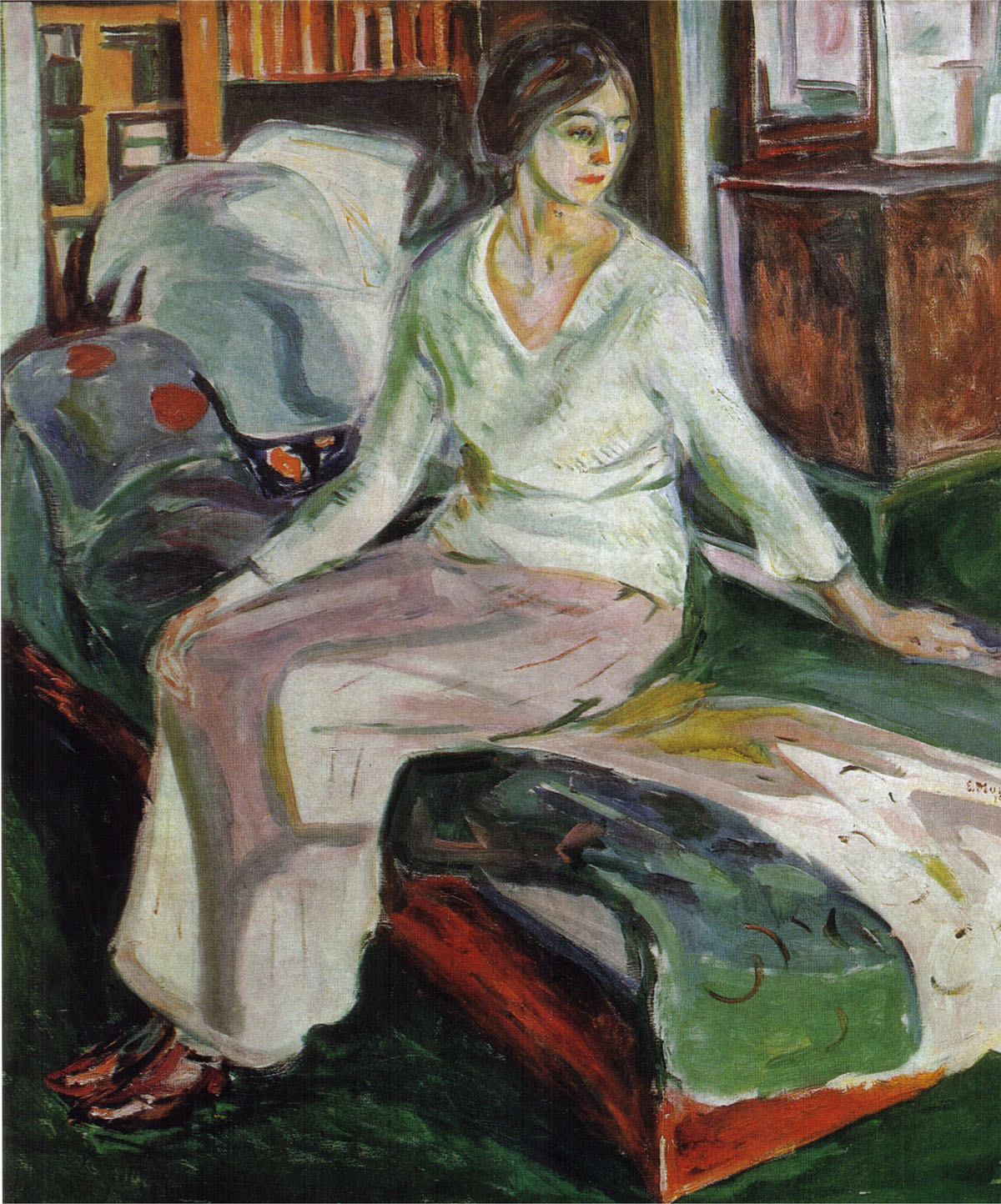 edvard-munch-model-on-the-couch